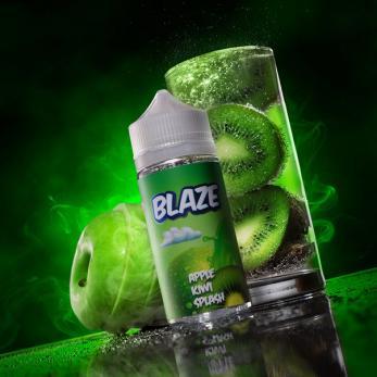 BLAZE  Apple Kiwi Splash 100 мл (3 мг)
