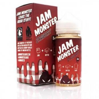 Jam Monster Strawberry 100 мл (3мг)