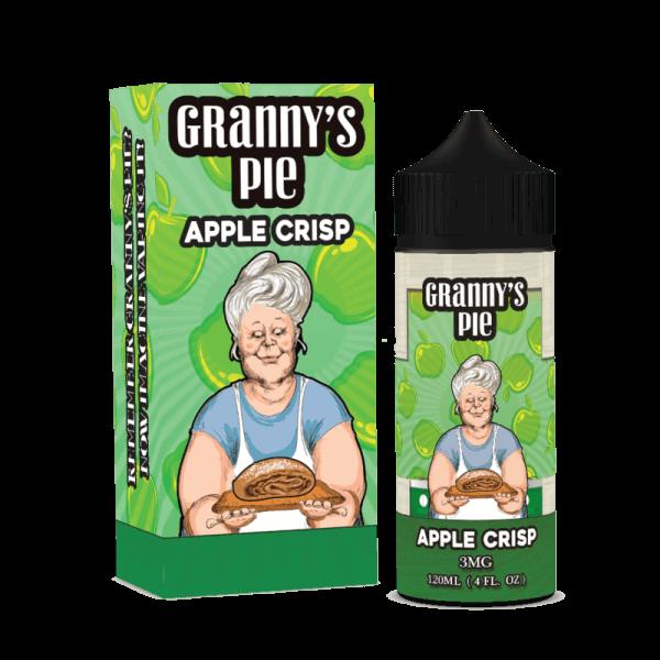 Granny's Pie Apple Crisp 120 мл (3мг)