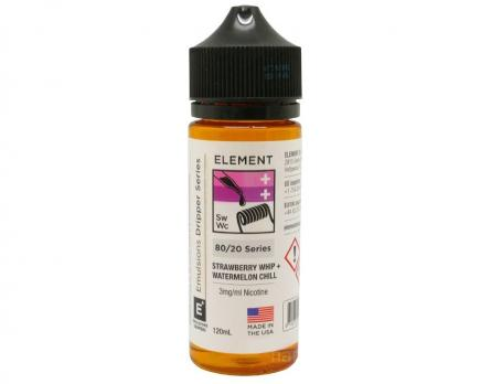 Element Strawberry Whip + Watermelon Chill 120 мл (3мг)