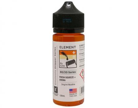 Element Fresh Squeeze + Crema 120 мл (3мг)