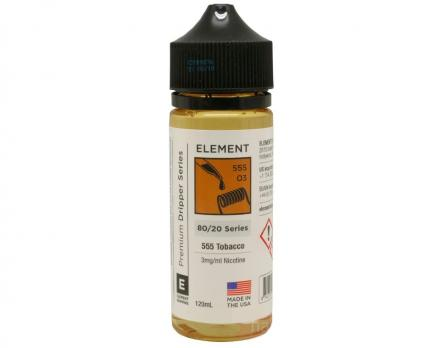 Element 555 Tobacco 120 мл (3 мг)
