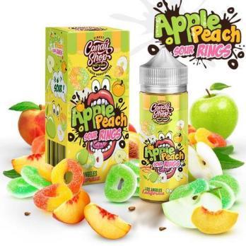 Candy Shop Apple Peach Sour Rings 100 мл (3мг)